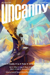 Uncanny Magazine July/August 2019 Cover