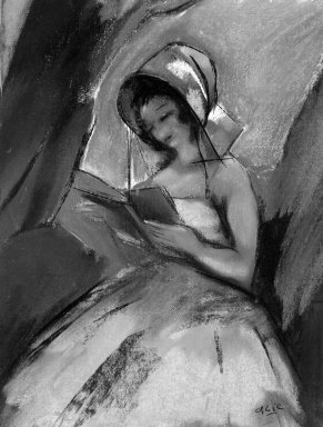 Dancer Reading