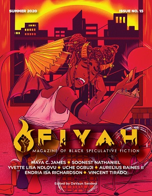 Fiyah Magazine Issue 15 Cover