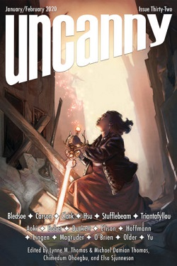 Uncanny Magazine Issue 32 Cover
