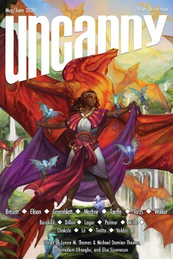 Uncanny Issue 34 Cover