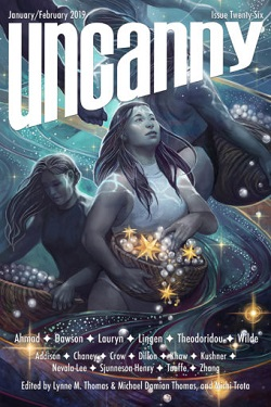 Uncanny January/February 2019 Cover